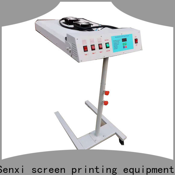 Senxi best flash dryer for screen printing company customization