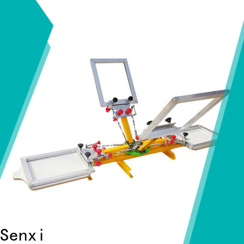 Senxi oem & odm screen printing machine one-stop cloth processing