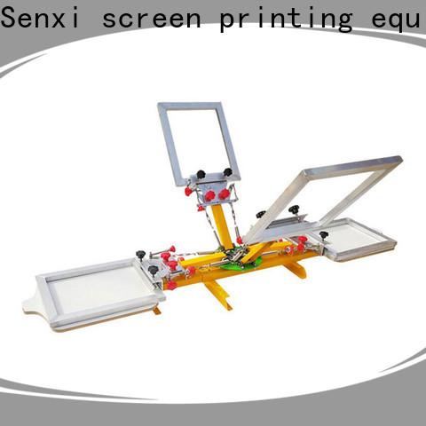 Senxi factory direct best manual screen printing machine one-stop