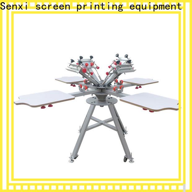 Senxi custom best manual screen printing machine one-stop company