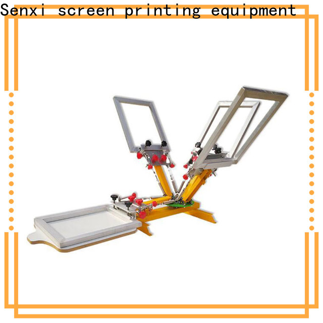 Senxi manual silk screen printing machine fast delivery company