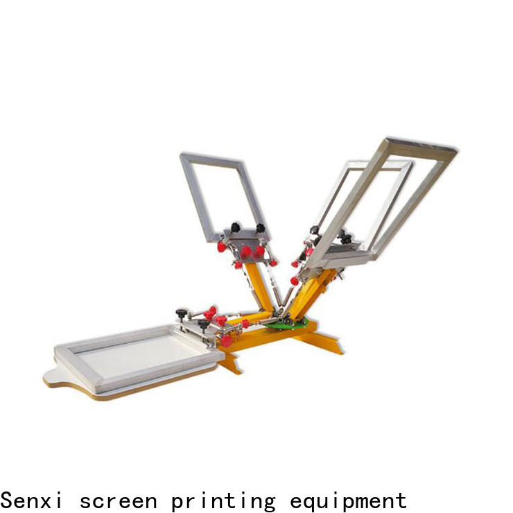 Senxi factory direct screen printing equipment manufacturers fast delivery manufacturing