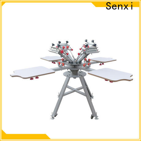 Senxi oem & odm manual silk screen printing machine fast delivery company