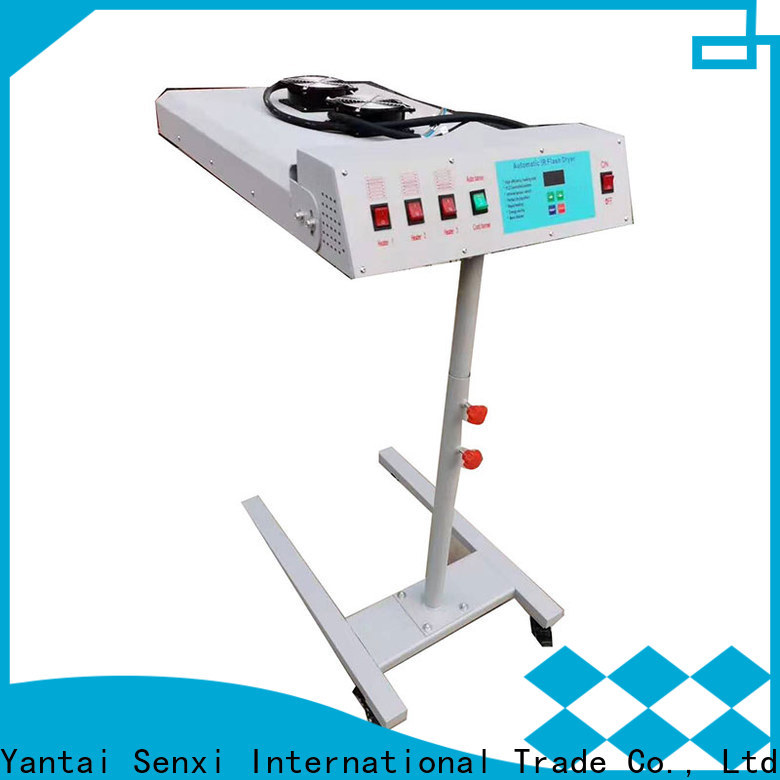 Senxi easy-operation best flash dryer for screen printing distributor customization