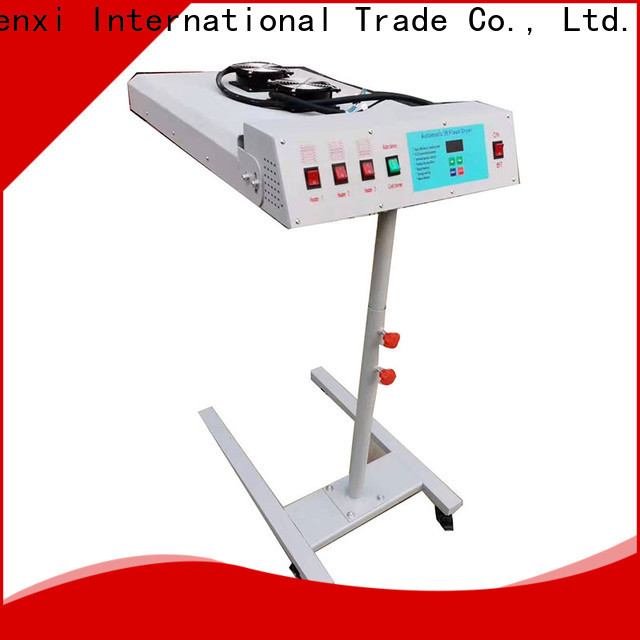 easy-installation screen printing dryer machine manufacturer
