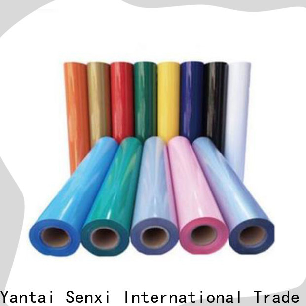 Senxi quality-reliable custom heat transfer vinyl production