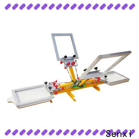 Senxi oem & odm best manual screen printing machine one-stop cloth processing