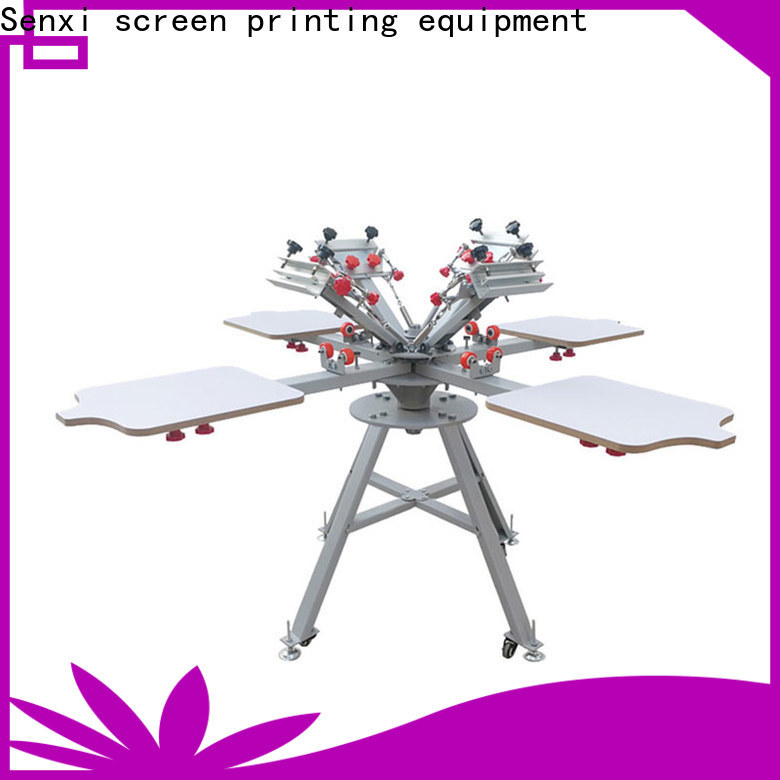 Senxi factory direct screen printing machine fast delivery