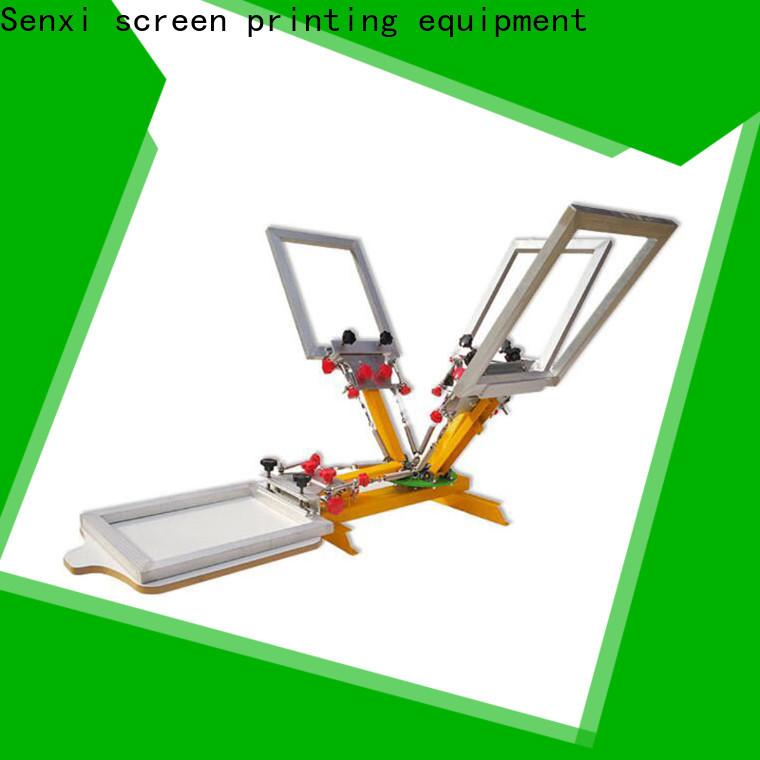 Senxi custom screen printing machine manufacturer solution company