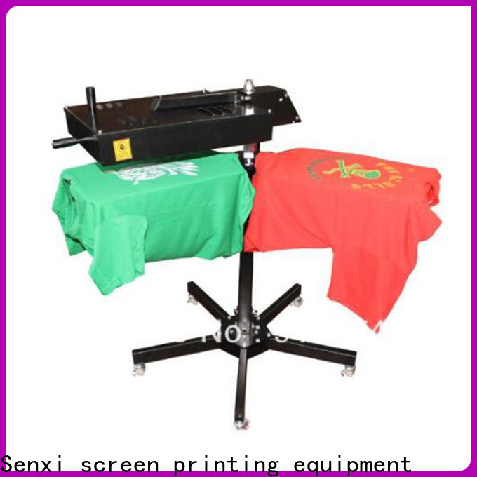 easy-operation screen printing flash cure unit distributor customization