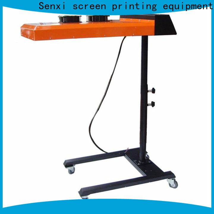 Senxi flash dryer for screen printing company