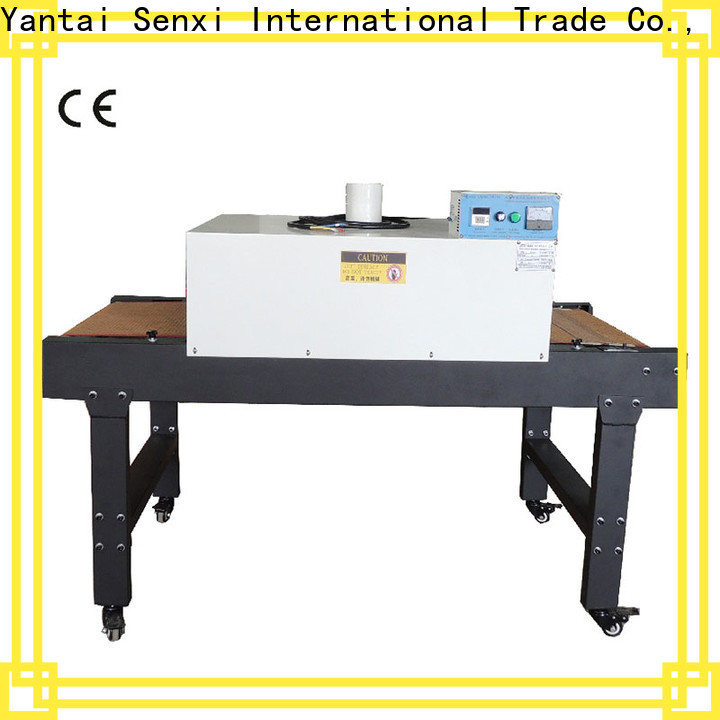 Senxi easy-installation flash dryer for screen printing
