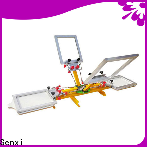 Senxi best manual screen printing machine fast delivery