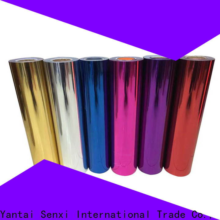 Senxi quality-reliable heat transfer vinyl rolls wholesale bulk supplies