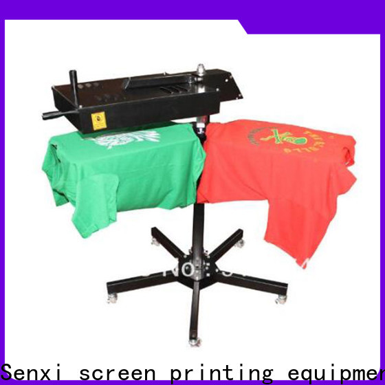 Senxi easy-installation flash dryer for screen printing company manufacturer