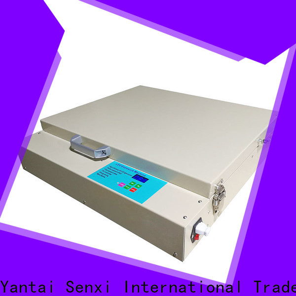 Senxi best exposure unit for screen printing high efficiency for business card