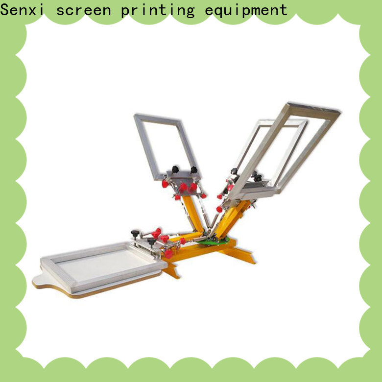 oem & odm screen printing machine manufacturer fast delivery cloth processing