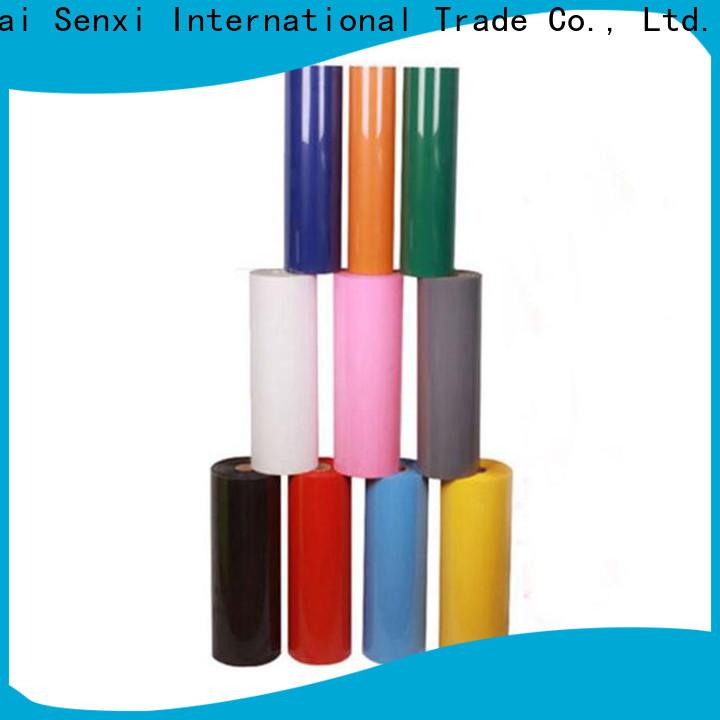 Senxi garment vinyl wholesale bulk supplies price-favorable