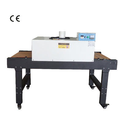 Infrared drying tunnel machine for drying t shirt